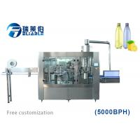 Carbonated Water Filling Machine , Automatic Liquid Filling Machine Manufactures