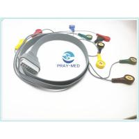 Edan SE-2003 / SE-2012 7lead holter recorder ecg cable and leads Manufactures