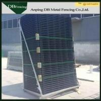 Powder Coating Wire Mesh Fencing Panel For Highway And Railway Both Sides Manufactures