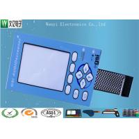 China Nicomatic Connector Tactile Polydome Membrane Switch Keypad Anti Interface on sale