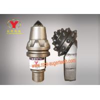 Antifriction Alloy Carbide Bullet Teeth , Foundation Drilling Bullet Teeth For Augers Manufactures