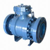 3-piece Trunnion Mounted Type Ball Valve, Customized Specifications Accepted, Easy to Operate Manufactures