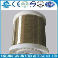 China High Quality  0.25mm EDM Brass Wire for EDM Wire Cut Machine with low price by bashan on sale