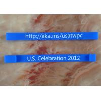 Blue cheap usb wristband usb flash drive waterproof silicone bracelet 1 year warranty Manufactures