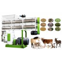 China High Efficiency Animal Feed Production Machine , Cattle Food Processing Machine on sale