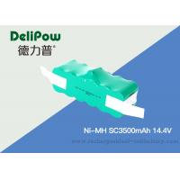 15510 Sc350mAh 14.4V NIMH Rechargeable Battery Pack For Medical Equipment Manufactures