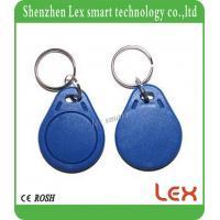 China Proximity KeyfobsRing EM4100 / TK4100 125KHz RFID Tag Cards Door Control Entry Access EM Key Chain Card RFID Keyfbos for sale