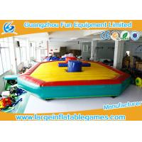 Inflatable Saint Gladiator Duel Tortoise Fighting Inflatable Sport Games Jousting Manufactures