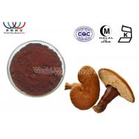 China Pure Natural Reishi Mushroom Extract Boost Immunity Brown Fine Powder Reduce Cholesterol on sale