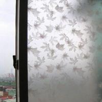 1,230 to 1,270mm Decorative Self Adhesive/Maple Window Film, Customized Patterns are Welcome Manufactures