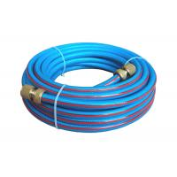 China Glass Fiber Reinforced PVC Hose with Click Quick Coupling Connectors on sale