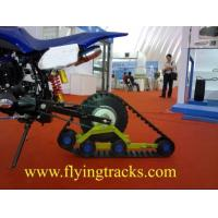 Motorcycle rubber track conversion system Manufactures
