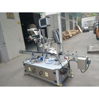 Sticker Top Labeling Machine For Nozzle Pouch Electric Driven Type Manufactures