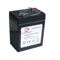 Quality sealed lead acid  4Ah 6v rechargeable battery with no memory effect for sale