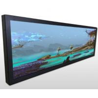 Quality Commercial Stretched Bar LCD Advertising Panel For Goods Shelves for sale