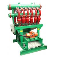 China Oilfield Drilling Fluids Dewatering Hydrocyclone / Desander Desilter With Anti Corrosion Paint on sale