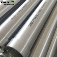 Water Treatment 8 Inch Well Casing Tubing , Spiral Welded Galvanized Well Casing Manufactures