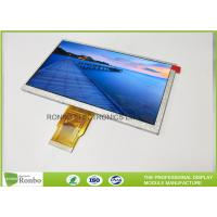 Customized TFT LCD Panel 7 Inch 400cd / M² Brightness Active Area 154.21 * 85.92mm Manufactures