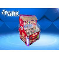 LCD Screen Coin Operated Amusement Machines Double Players Candy Machine Manufactures