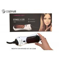 Electric Power Infrared Hair Dryer Brush 50/60Hz With 360 Degree Swift Cord Manufactures