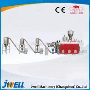 High performance plastic WPC pellets making machine production line Manufactures