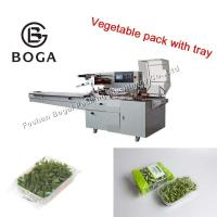Vegetable Packing Machine Multi Function Flow Typr Pillow Daily Use Support Manufactures