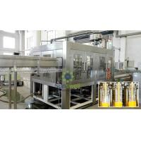 High Capacity 500ml Hot Filling Machine Plastic Bottled Gravity Filling Manufactures