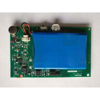 Green SMD PCB Assembly Rogers Material With Battery And Module Immersion Manufactures