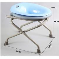 China One Click Folding Common Sitting Adjustable Bath Seat High Carbon Steel Squat Free on sale
