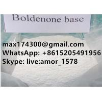 Boldenone Base Powder top quality Steroid Anabolic Supplier For Muscle Building CAS 846-48-0 Manufactures