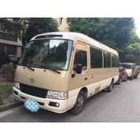 China 2012 Year 19 Seats Used Toyota Coaster 2TR Gas Engine Simple Style Appearance on sale