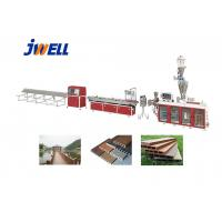 China Jwell PE WPC Plastic Recycling Floor Product Many Times Using Plastic Extruder Machine on sale