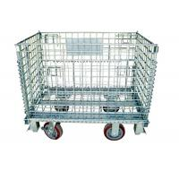 Warehouse Storage Collapsible Hanging- type Wire Mesh Container Manufactures