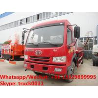 China good quality jiefang FAW 10000L  water tank truck for sale, HOT SALE! FAW brand 10m3 PORTABLE WATER TANK
