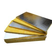 Foil - Faced Glass Wool Roll Soundproof Insulation For Metal Building Insulation Manufactures