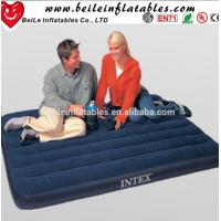 Inflatable lover travel air bed with inflatable Electric Pump mattress Manufactures