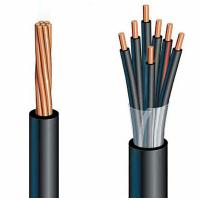low voltage oil resistance rubber insulated cables for heavy mobile equipment