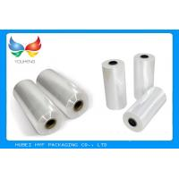 China 40Mic Waterproof 60 - 70 % PETG Shrink Film Gloss Surface Finish For Drink Packaging on sale