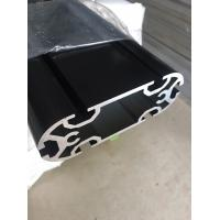 Customized Extruded Aluminum Profiles Electroplating Black Long Extrusion Profile Manufactures