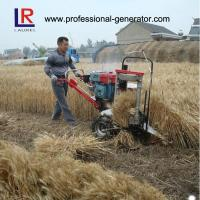 8HP 5KW Wheat Reaper Binder Harvester with water cooling diesel engine Manufactures