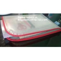 Mesh Organizer Storage Bag Durable File Bag for Office Stationery and Travel,Zipper Mesh File Bag Cosmetic Bag PVC Bag f Manufactures
