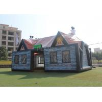 Giant Advertising Inflatable Tent , Inflatable House Tent 11 X 6 X 5.8 M Manufactures