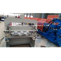 Galvanized Steel Floor Decking Steps Cold Roll Forming Machine / Equipment Manufactures