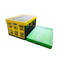 Stacking Plastic Storage Crates Customized PP Plastic Box Foldable Manufactures