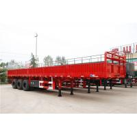 60 ton cargo ship vehicle equipment side wall semi trailer - CIMC Manufactures