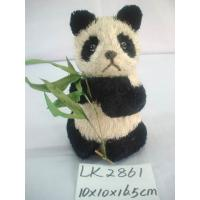 Quality Handicraft panda,size:13×12.5×20cm,High quality with competitive price for sale