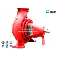 750GPM@180PSI End Suction Fire Pump Centrifugal Ductile Cast Iron Materials Manufactures