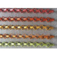 China Manufacture Anodized Fly Screen Door Chain Link Curtains Manufactures