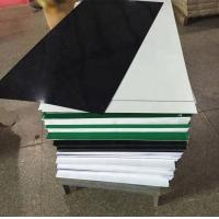 Modern Engraving Sheet Two Colors Plastic ABS Material 600*1200mm Size Manufactures