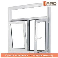 Adjusting Tilt And Turn Aluminium Windows With Screens Swing Open Style Manufactures